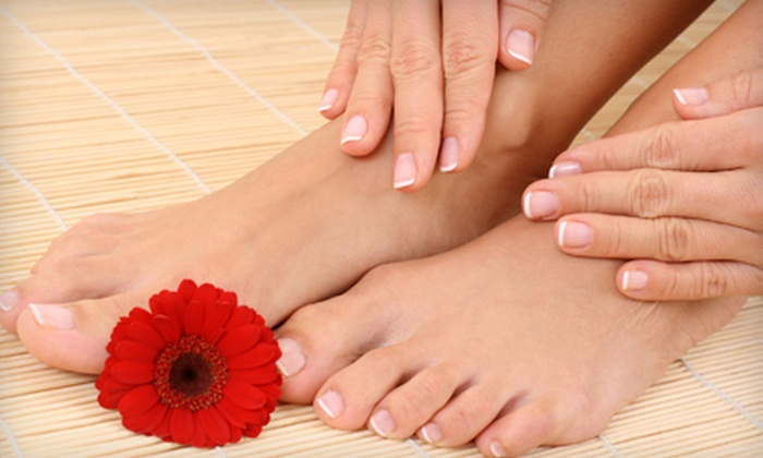 Rejuve SalonSpa - North Raleigh: Signature, Specialty, or Luxury Mani-Pedi at Rejuve SalonSpa
