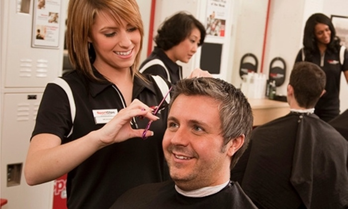 Sport Clips - Multiple Locations: $20 for Two MVP Men's Haircuts at Sport Clips ($42 Value)