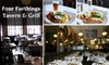 Four Farthings Tavern & Grill - Lincoln Park: $15 for $30 Worth of Pub Grub and Drinks at Four Farthings