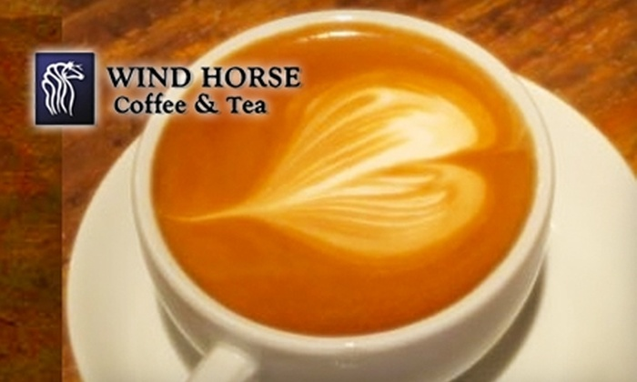 Wind Horse Coffee & Tea - Historic Milwaukie: $5 for $10 Worth of Drinks and Munchables at Wind Horse Coffee & Tea