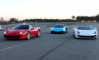 Up to 70% Off Driving Experience with Dream Drive Exotics