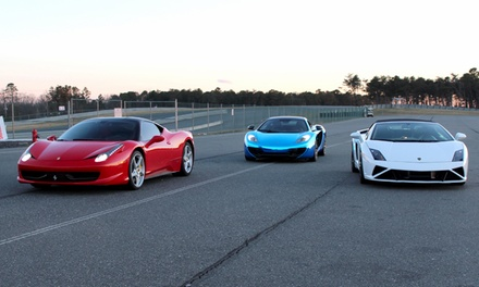 Exotic Car Experience with Drive 1 Exotics (Up to 75% Off). Four Options Available.