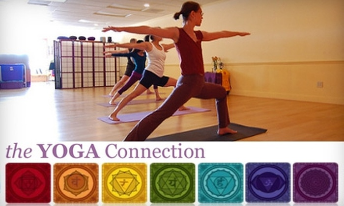 Yoga Connection - Midtown: $45 for One Month of Unlimited Yoga Classes at the Yoga Connection (Up to $90 Value)