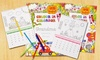 Simply Personalized: XL or XXL Custom Color-In Calendar for Kids from Simply Personalized (50% Off)