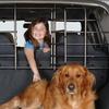 Pet Vehicle Seat Barrier with Door