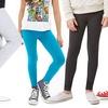 Girls' Basic Full-Length Leggings