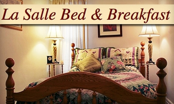LaSalle Bed & Breakfast Inn - Downtown Fort Wayne: One-Night Stay at LaSalle Bed & Breakfast Inn. Choose from Four Room Options.