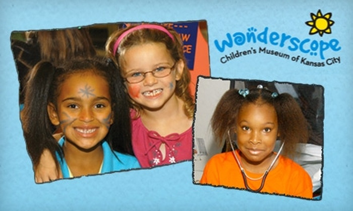 Wonderscope Children's Museum - Shawnee: $14 for a Four Pack of Admissions to the Wonderscope Children's Museum (Up to $28 Value)