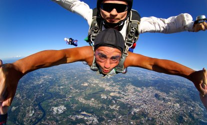 $166 for One Tandem-<strong>Skydiving</strong> Jump at North East Skydive ($299 Value)