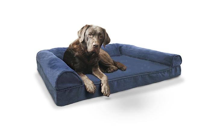 Plush Orthopedic Pet Bed Sofa Groupon