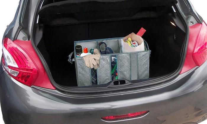 Organizer per auto con 3 scomparti
