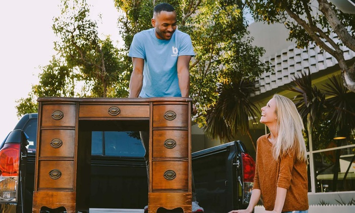 Buddytruk - Orange County: On-Demand Moving and Delivery Services from Buddytruk (50% Off). Two Options Available.