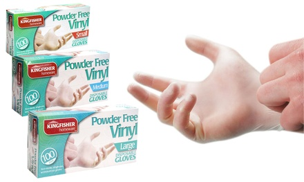 Kingfisher Disposable Gloves 100Pack