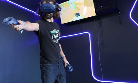 30-Minute Virtual Reality Experience for One or Two Stations at Digital Worlds VR (Up to 28% Off)