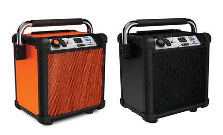 ION Job Rocker Plus 50W Portable Bluetooth Speaker (Mfr. Refurbished)