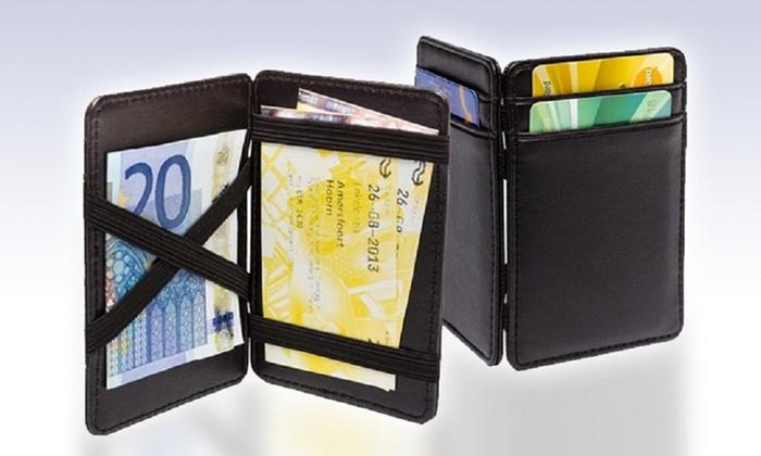 più economico 629bb 2a9da Portafoglio magico con scomparto interno per nascondere soldi