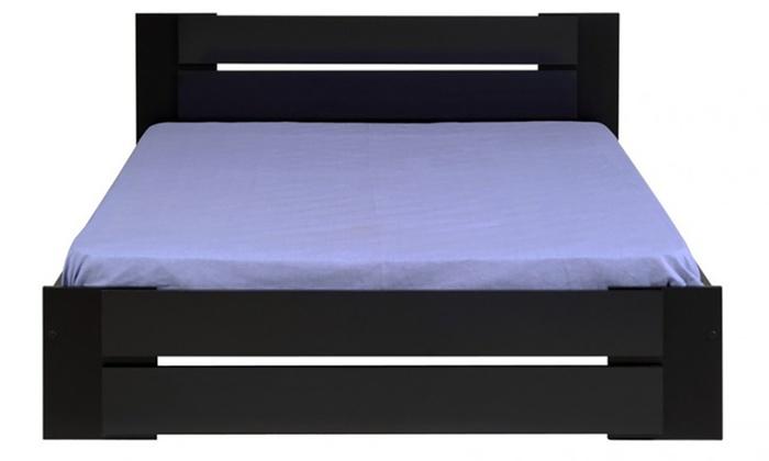 lit avec sans 2 chevets thelma groupon. Black Bedroom Furniture Sets. Home Design Ideas