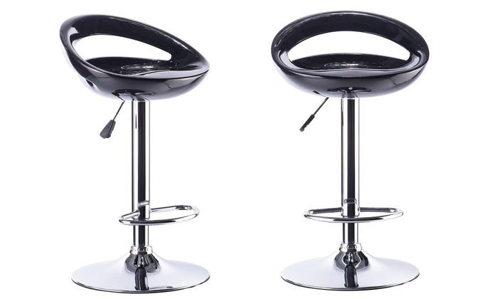 lot de 2 tabourets de bar stools groupon shopping. Black Bedroom Furniture Sets. Home Design Ideas