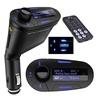 iSunnao Car Kit MP3 Player FM Transmitter and USB/SD/MMC/3.5mm Adapter