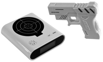 Blaster and Target Recordable Alarm Clock