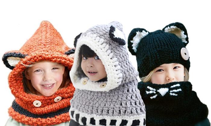jusqu à 79% Bonnet écharpe pour enfants   Groupon af3aa1925a0