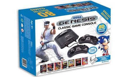 Sega genesis game console groupon goods - Sega genesis classic game console games ...