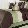 8-Piece Pintucked Comforter Set