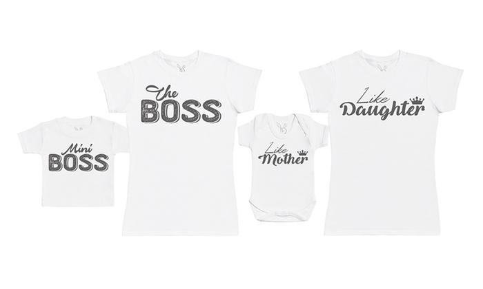 656ab80de9586 Duo maman et bébé body + t-shirt   Groupon Shopping