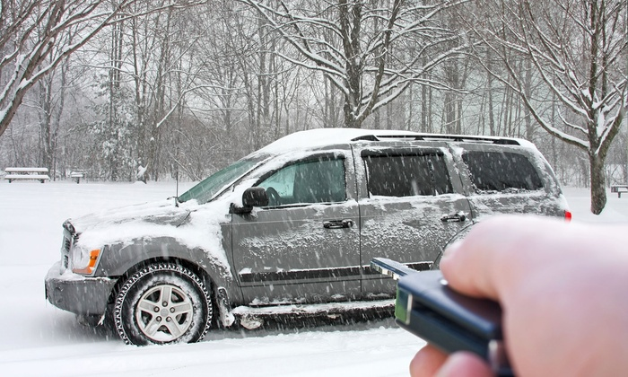 Circle City Window Tint & Detail - Castleton: $139 for Remote Car Starter Installation and Two Remotes at Circle City Window Tint & Detail ($240Value)