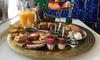 Petit-déjeuner marocain complet