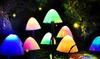 Solar-Powered Mushroom Garden Light