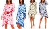 Tie-Dye Women's Dress. Plus Sizes Available.