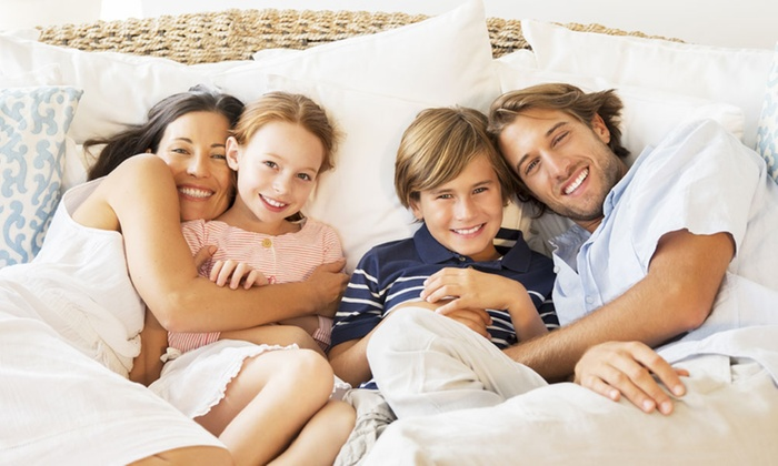 QV Dental - Missouri City: $250 for a Dental Exam, Cleaning, and X-Ray for Family of Up to Four at QV Dental ($1,000 Value)