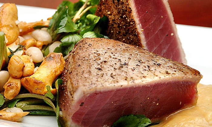 The Restaurant at Rowayton Seafood - Rowayton: Steaks and Seafood at The Restaurant at Rowayton Seafood (Half Off). Two Options Available.