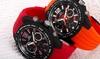 Joshua & Sons Men's Quartz Multifunction Tachymeter Watch: Joshua & Sons Men's Quartz Multifunction Tachymeter Watch