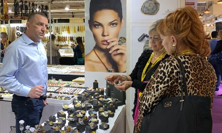 General Admission to Gem Show for One, Two, or Four at JOGS Gem and Jewelry Show (Up to 62% Off)