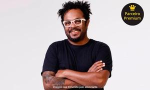 """Up Eventos: Stand-up """"Juro que é verdade"""", com Marcelo Marrom – Clube Atlético Aramaçan"""