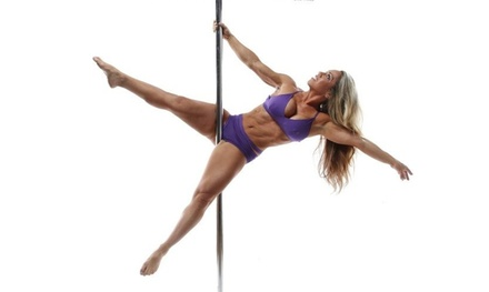 Three Aerial Hammock Classes or Three or Six Pole-Dancing Classes at Pixie Fitness (Up to 65% Off)