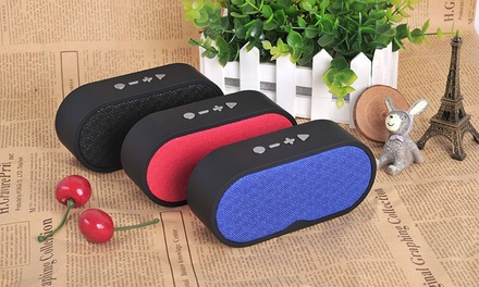 F3 Multi-Function Portable Bluetooth Speaker with Unique Fabric Design: One ($19.95) or Two ($34.95)