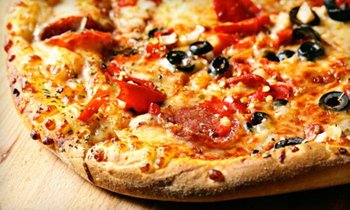 Feasta Pizza - Multiple Locations: Italian Fare for Two or Four at Feasta Pizza (Up to 52% Off)