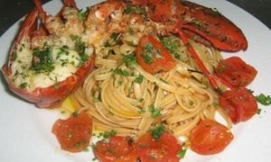 Lo Scoglio: Menu gourmet con astice più vino per 2 o 4 persone a in centro a Pescara al ristorante Lo Scoglio (sconto fino a 62%)