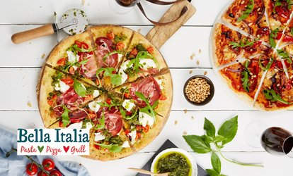 image for Bella Italia: Two-Course Italian Meal for Two or Four (Up to 59% Off)