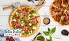 Bella Italia - Multiple Locations: Bella Italia: Two-Course Italian Meal for Two or Four (Up to 59% Off)