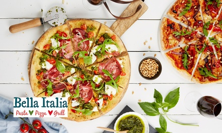 Bella Italia: Two-Course Italian Meal for Two or Four (Up to 59% Off)