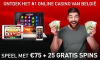 75 € ou 125 € de jeu gratuit + 25 spins gratuits pour seulement 10 € et 15 € sur casino777.be