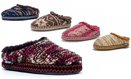 Muk Luks Women's Lucia Scuff Knit Slippers