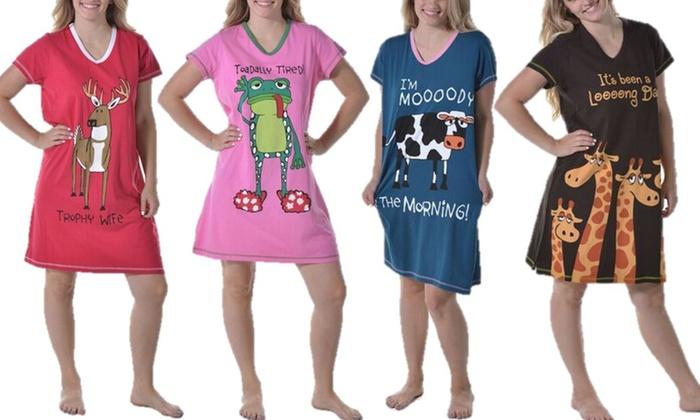 15ed5437cf LazyOne Nightshirts