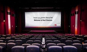 Reel Cinemas: AED 50 to Spend on Food and Beverages with Optional Cinema Ticket at Reel Cinemas (Up to 30% Off)