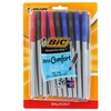 Bic Round Stic Grip Xtra Comfort Ballpoint Pens (26-Pack)