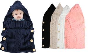 Couvertures bébé maille torsadée